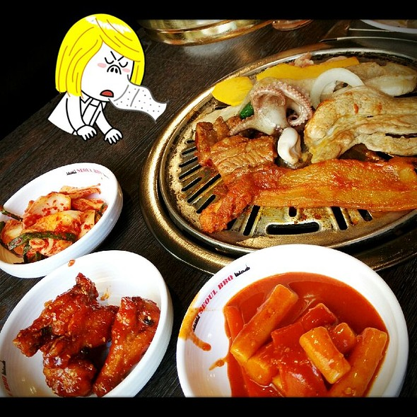 Korean Bbq Buffet @ Seoul BBQ (Asoke)