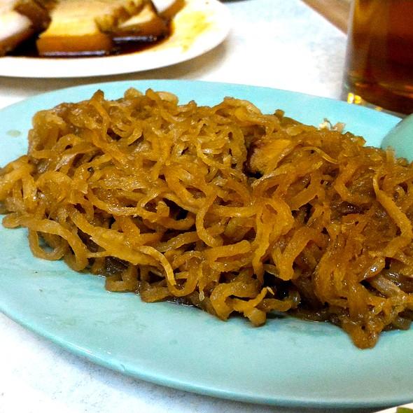 Pickled Soyed Radish @ Ang Tunay Beef House