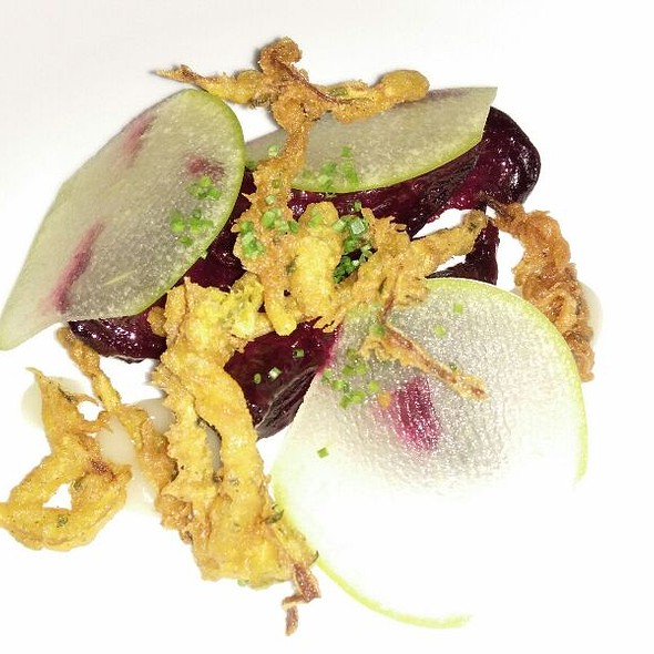 Beetroot - With Horseradish, Onion, Buttermilk, Hazelnut @ anew Table
