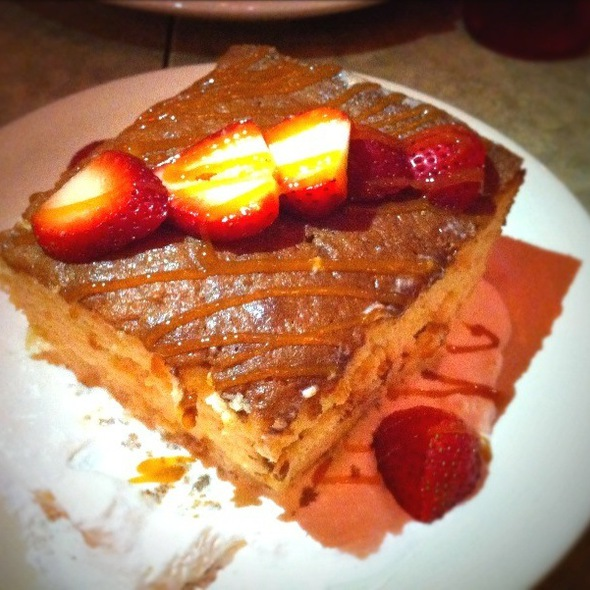 Tres Leches Cake @ Chuy's