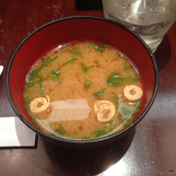 Miso Soup @ Tonkatsu Ginza Bairin