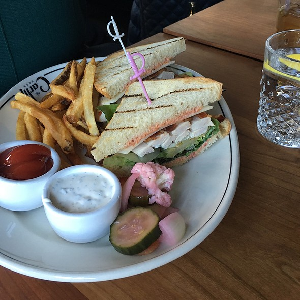 Clubhouse Sandwich @ The Carlile Room