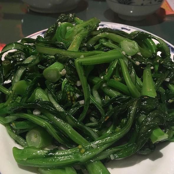Yu Choi With Garlic @ Chef Chen
