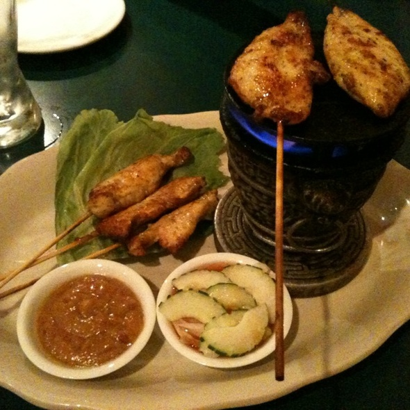 Chicken Sate @ Bangkok City Thai Cuisine