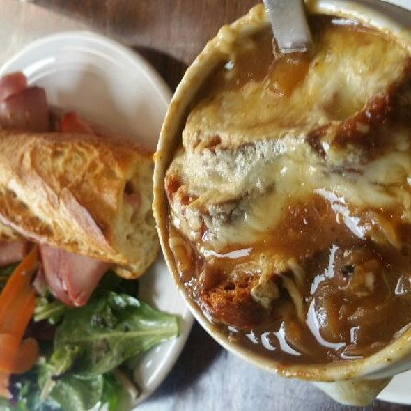 French Onion Soup @ Sasha's Baking Co