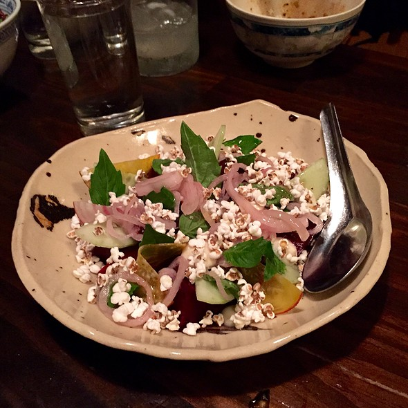 Roasted Beets @ North