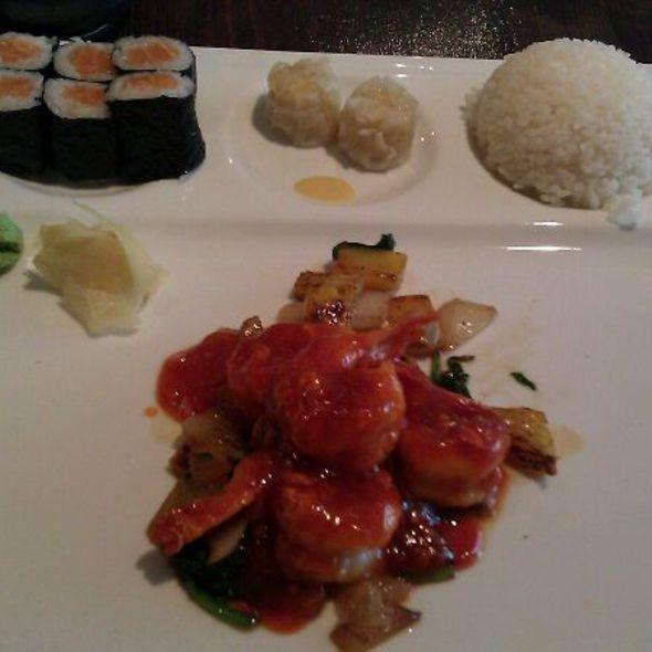 Singapore Pineapple Spicy Prawn Bento @ Ajisai Japanese Restaurant