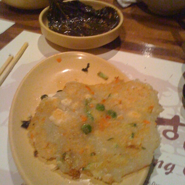 potato and tofu pancake @ Cho Dang Gol