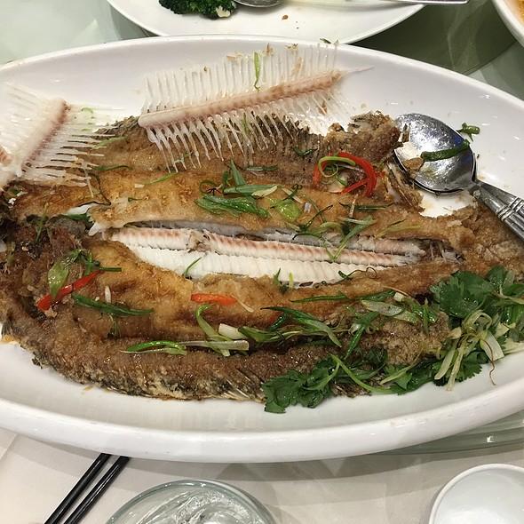 Pan Fried Flounder @ Park Asia