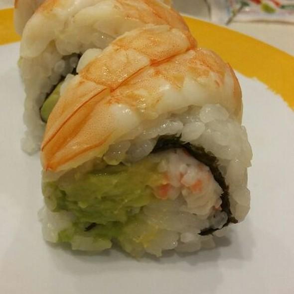 Shrimp And Avocado Roll @ Genki Sushi