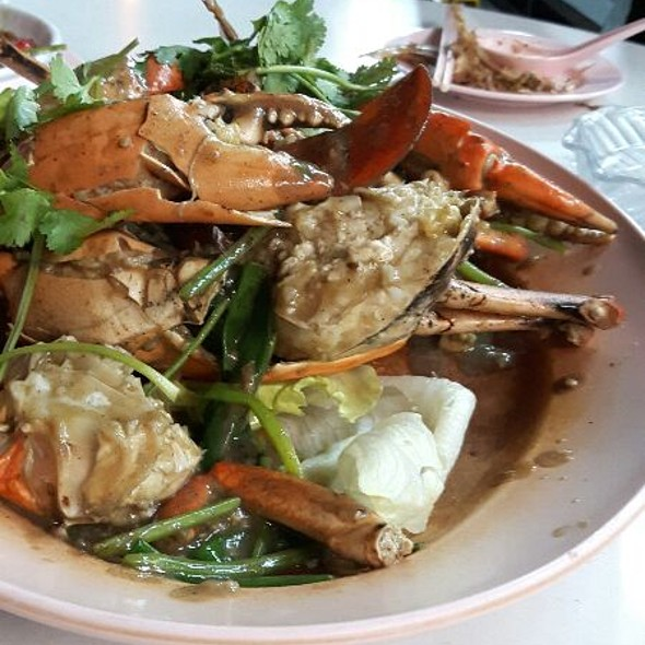 White Pepper Crab @ JB Ah Meng
