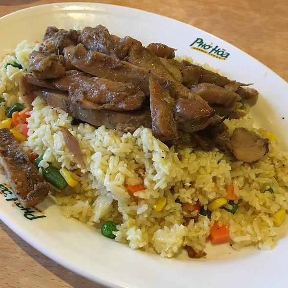 Chicken Fried Rice @ Pho Hoa