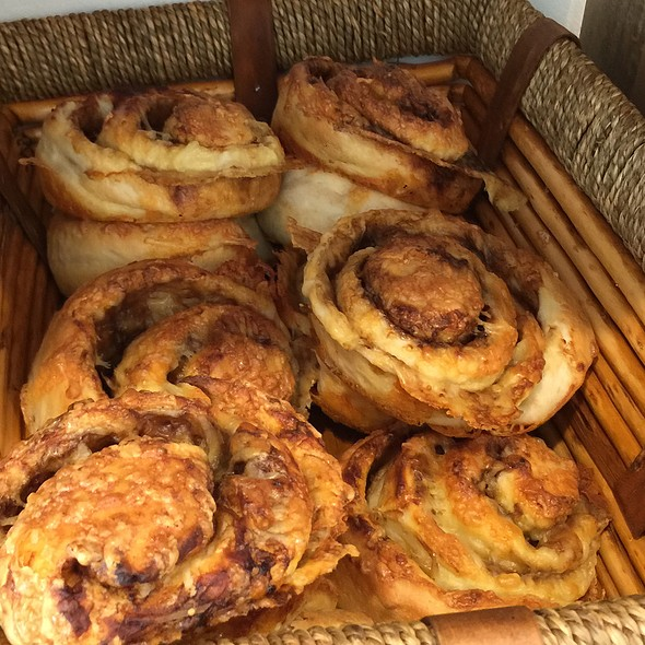 Cheesymite Scroll @ Rottnest Bakery