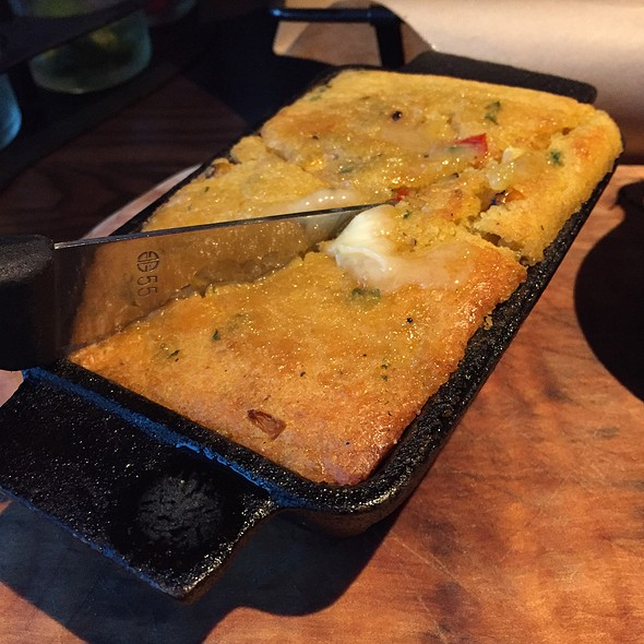 "Charred ""Corn"" Bread @ Hickory By Kent Rathbun"