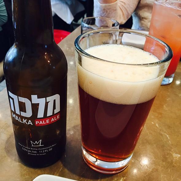 Malka Israeli Beer @ Shaya