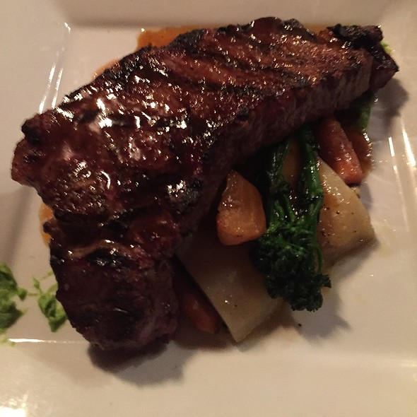 New York Steak @ The Woods