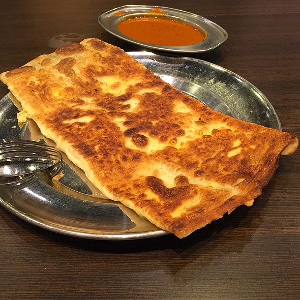 Double Egg Prata @ Springleaf Prata Place