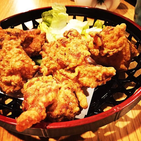 fried chicken @ Soba Azuma