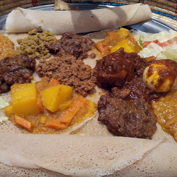 Ethiopian tasting menu @ Hanan