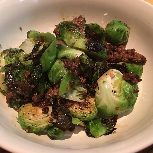 Brussel Sprouts & Chorizo