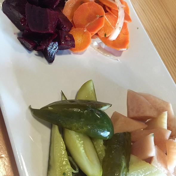 Pickled Plate @ Umami Burger
