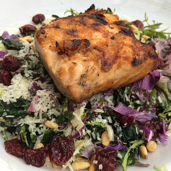 Scottish Salmon And Kale Salad - Cappy's Restaurant, San Antonio, TX