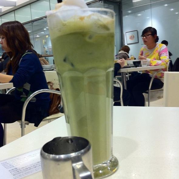 Iced Green Tea Cappucino @ Ichi-Ban Boshi