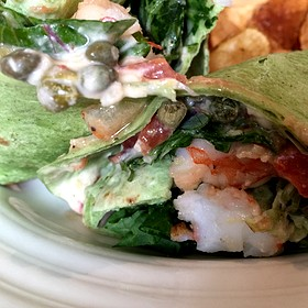 Grilled Shrimp Wrap - Pacci Italian Kitchen & Bar, Savannah, GA