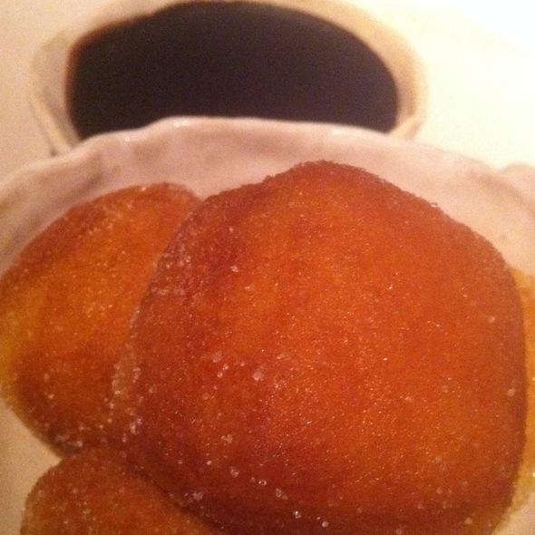 Doughnuts With Bacon Fudge Sauce @ ABC Kitchen