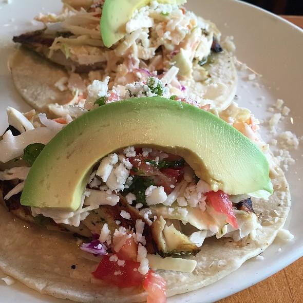 Grilled Mahi Tacos With Avacado - The Greene House - Kierland Commons, Scottsdale, AZ