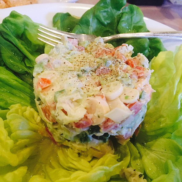 Chopped Seafood Salad With White Remoulade @ Beausoleil Restaurant & Bar