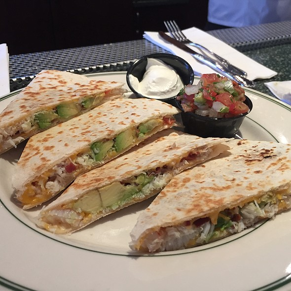 Crab And Avocado Quesadilla @ Buena Vista
