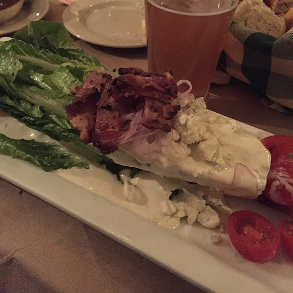 Wedge Salad @ Common Man Lincoln