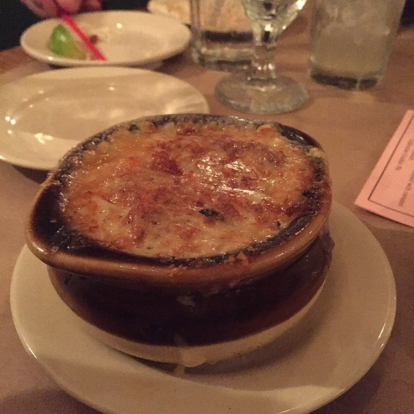 French Onion Soup @ Common Man Lincoln