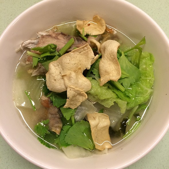 Fish Head Clear Soup