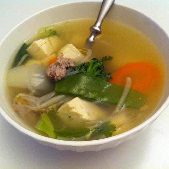 Tofu Soup @ Siam Cuisine