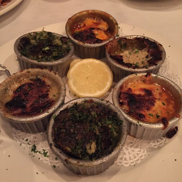 Baked Oysters @ Juban's Restaurant