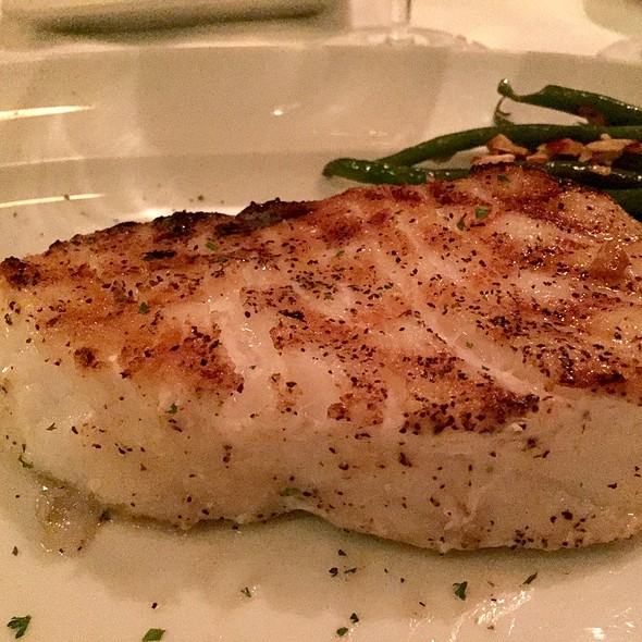 grilled chilean sea bass
