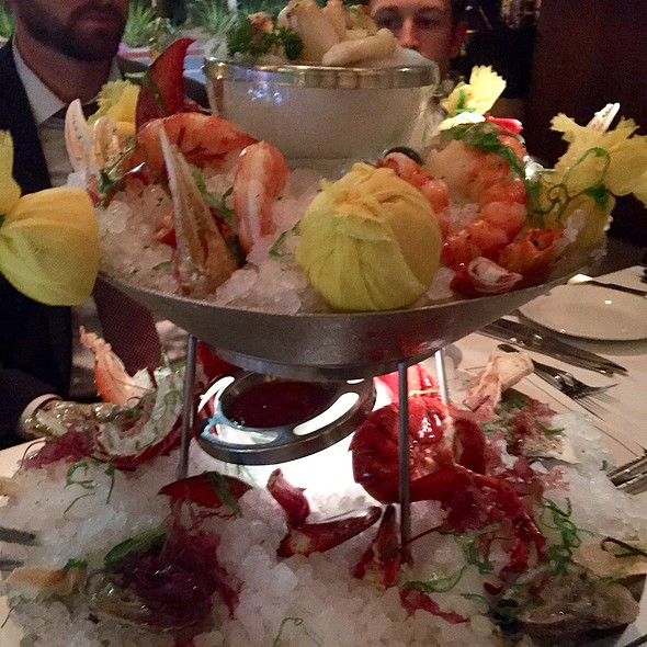 Lobster And Crab Claw Seafood Tower