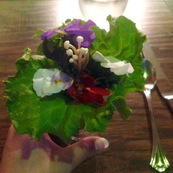 Wedding Bouquet Salad @ Eculent