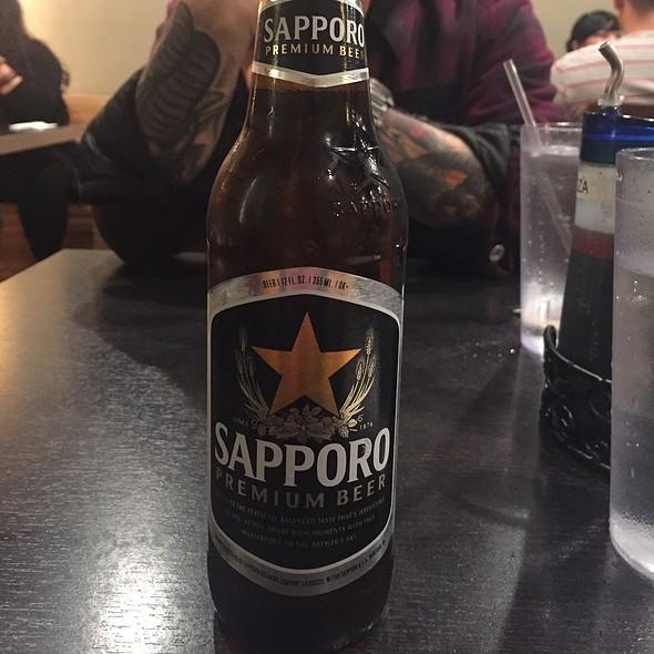 Sapporo Beer @ Silver Lake Ramen