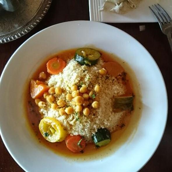 Vegetable Couscous @ Kasbah Grill