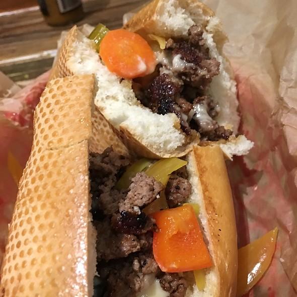 Philly Cheesesteak @ Farm Burger