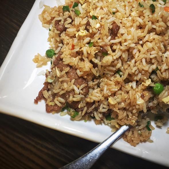 beef fried rice @ Chuangcai Fang Sichuan Restaurant
