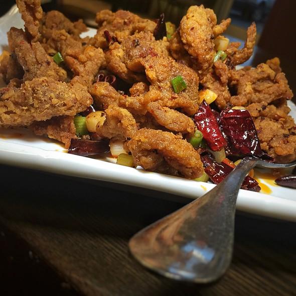 Spicy Chendu Beef @ Chuangcai Fang Sichuan Restaurant