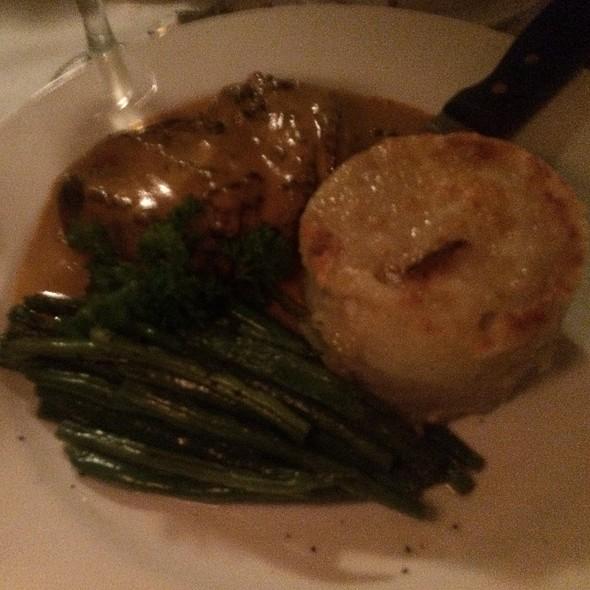 Duck Breast W Potato Gratin And String Beans @ AOC Restaurant