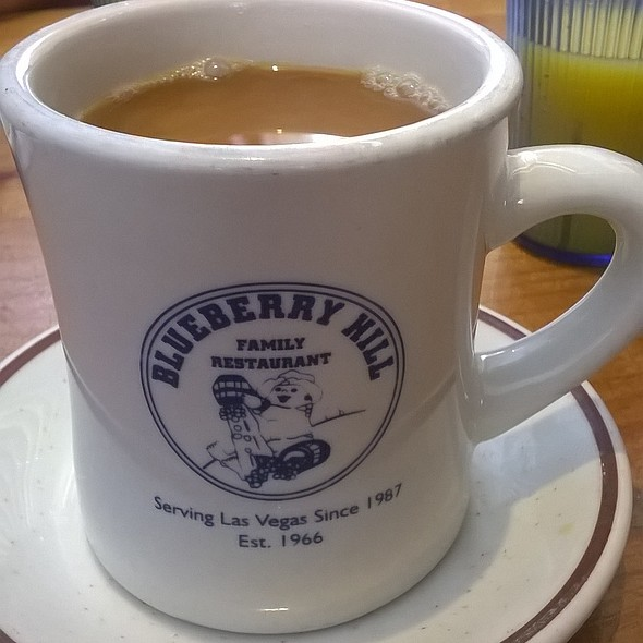 Coffee @ Blueberry Hill Family Restaurant