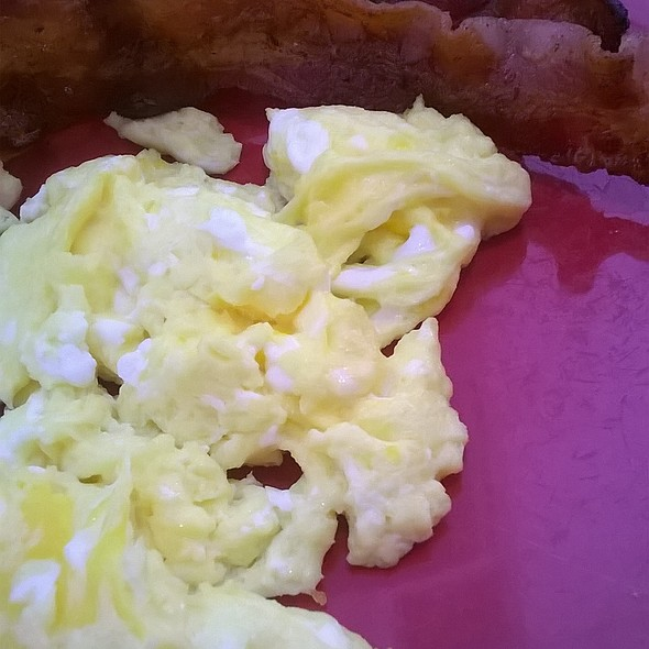 Bacon and eggs @ Blueberry Hill Family Restaurant