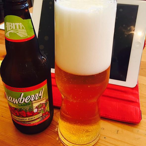 Abita Strawberry Lager Beer @ The Cornerstone