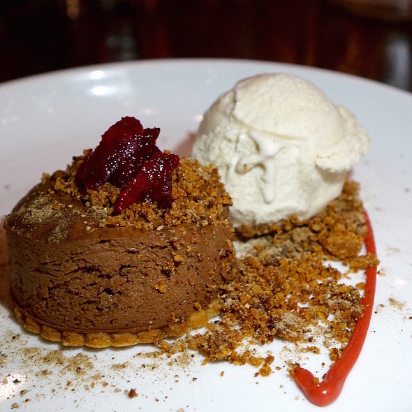 Chocolate Mousse @ Current Fish & Oyster